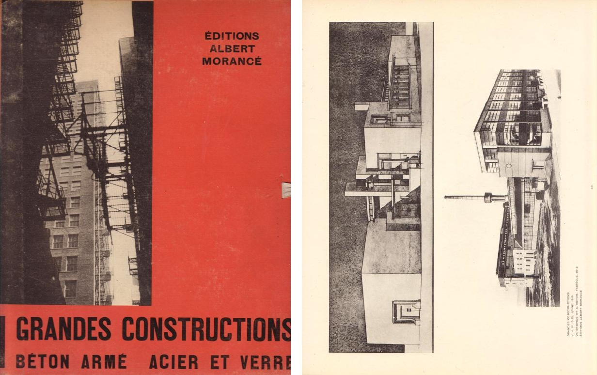 BADOVICI, JEAN. - GRANDES CONSTRUCTIONS Béton Armé Acier Verre.