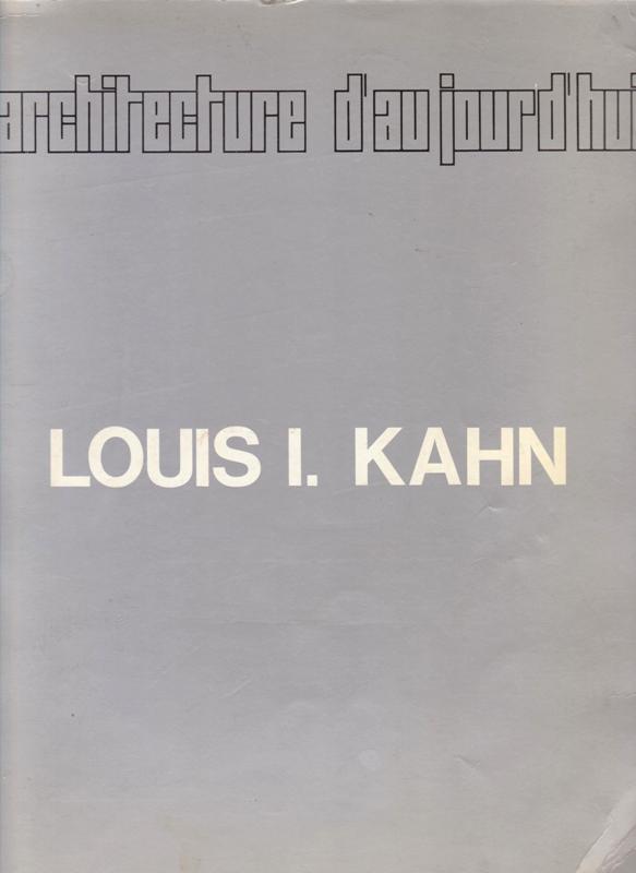 N/A - Louis I. Kahn. L'architecture d'aujourd'hui. N°142. spécial février-mars 1969 N°142