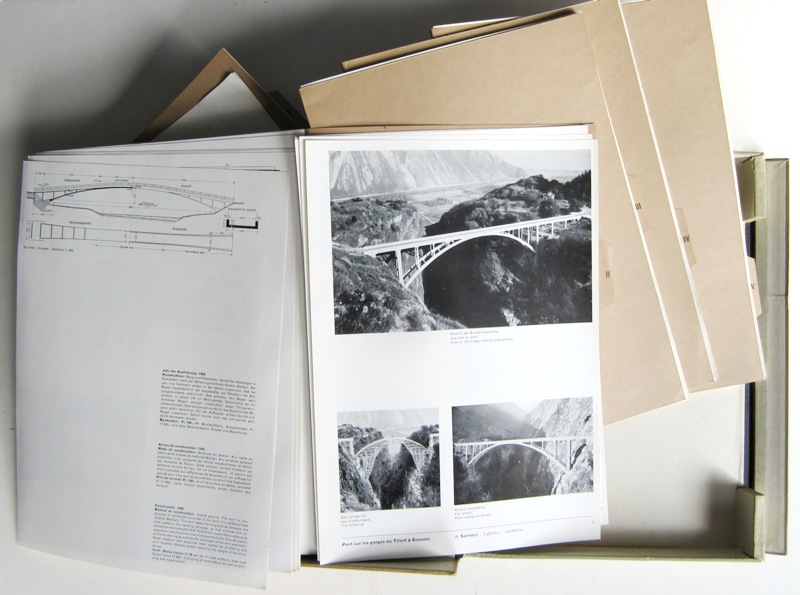 BILL, MAX. - Moderne Schweizer Architektur. Architecture Moderne Suisse. Modern Swiss Architecture 1925-1945.