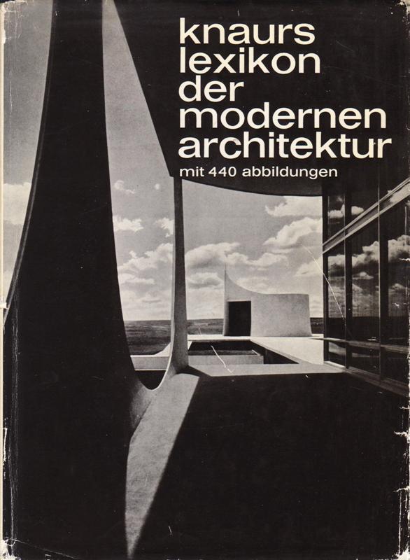 HATJE, GERD. - Knaurs lexikon der modernen architektur.