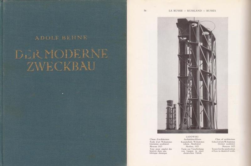 BEHNE, ADOLF. - Der moderne Zweckbau.