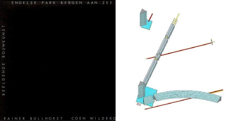 BULLHORST, RAINER / WILDEROM / BOLTEN - REMPT, JETTEKE. - Beeldende Bouwkunst: Engelse Park Bergen aan Zee.