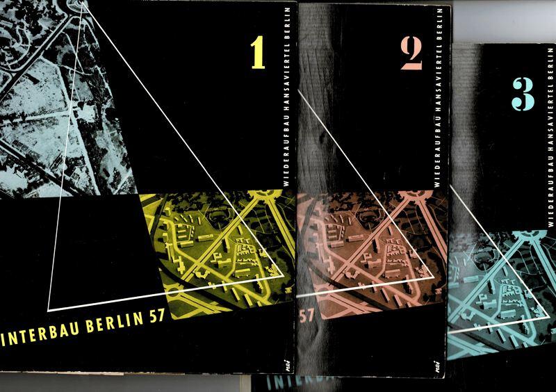 INTERNATIONALE BAUAUSSTELLUNG BERLIN 1957. - Wiederaufbau Hansaviertel Berlin 1, 2 und 3.
