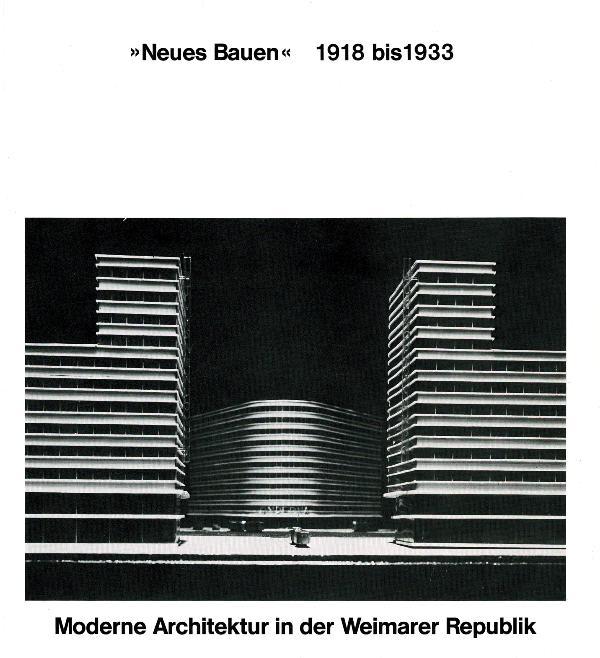 HUSE, NORBERT. - Neues Bauen 1918 bis 1933. Moderne Architektur in der Weimarer Republik.