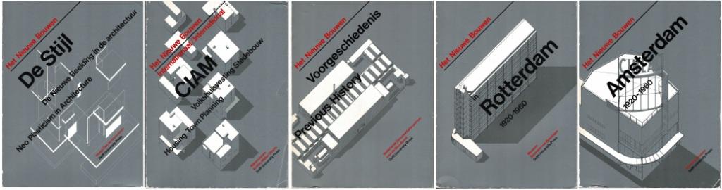 N/A - Het Nieuwe Bouwen. Complete series 5 volumes.