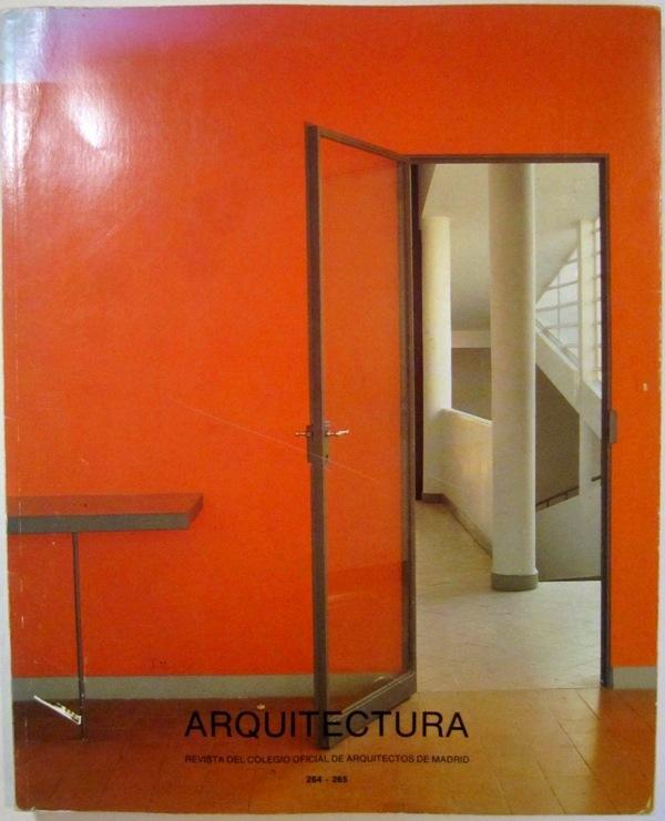 N/A - Arquitectura 264-265. Revista del colegio oficial de arquitectos de Madrid