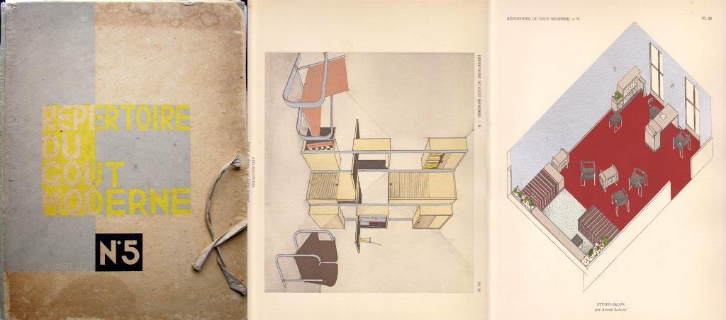 CHAREAU, P./ DOMINIQUE GUÉVRÉKIAN/ ANDRÉ LURÇAT / L SOGNOT. - Répertoire du Goût Moderne. Nº 5.