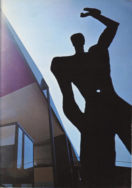 N/A. - The last building by/ Das letzte Bauwerk von/ La derniere oeuvre architecturale de Le Corbusier.