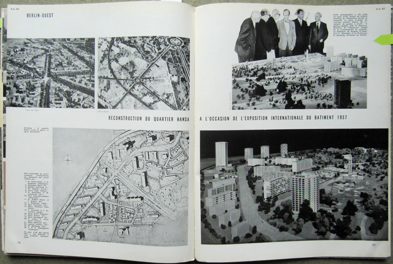 L'ARCHITECTURE D'AUJOURD'HUI. NO 63. - Europe.