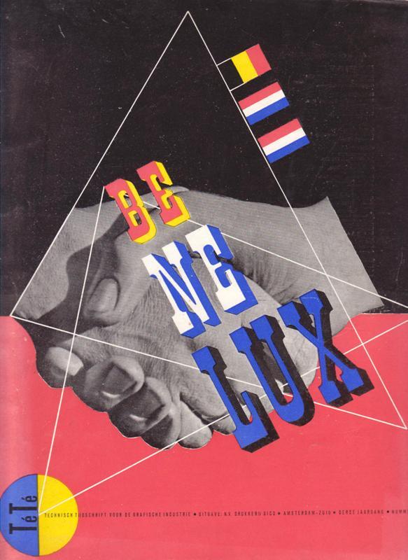 BLANKENSTEIN, A.H.G. (ED.) - BENELUX. Té Té - Technisch Tijdschrift voor de Grafische Industrie, 3e jaargang no. 10, Juli 1948.