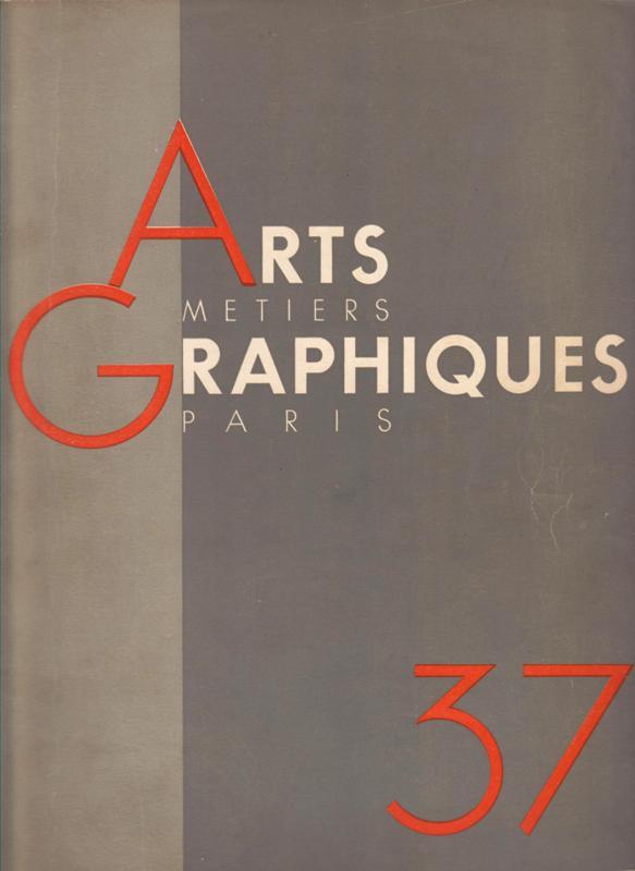 ARTS ET MÉTIERS GRAPHIQUES 37. -