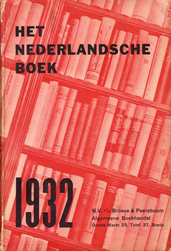 N/A - Het Nederlandsche boek. 1932.