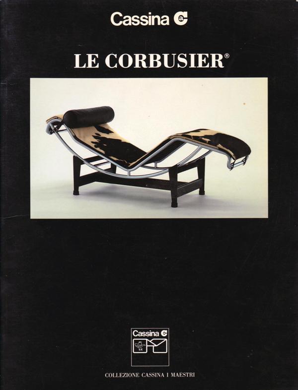 CASSINA. N/A. - Le Corbusier.