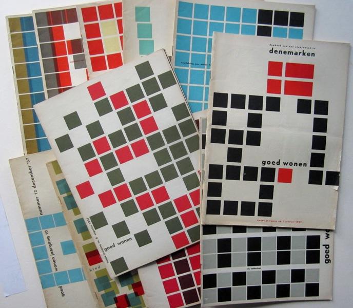 GOED WONEN, 1957 - Maandblad Voor Wonen En Woninginrichting, Orgaan Van de Stichting Goed Wonen.