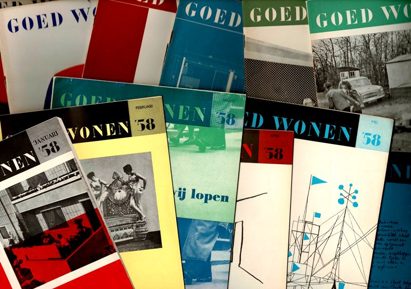 GOED WONEN. 1958. - Jaargang 1958. Nrs.1 t/m 12.