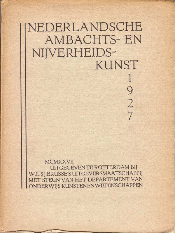 V.A.N.K.JAARBOEK. 1927. -