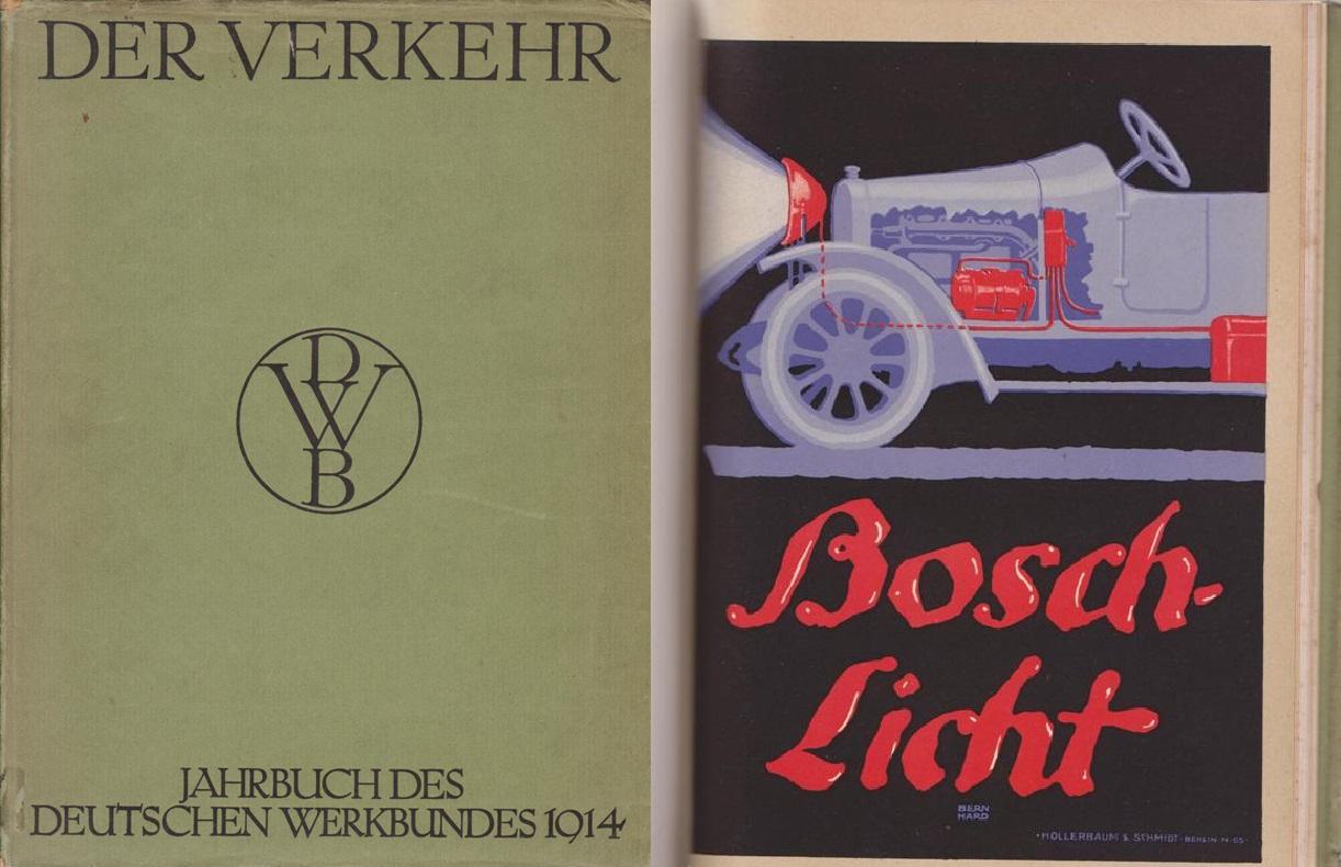 JAHRBUCH DES DEUTSCHEN WERKBUNDES 1914. - Der Verkehr.
