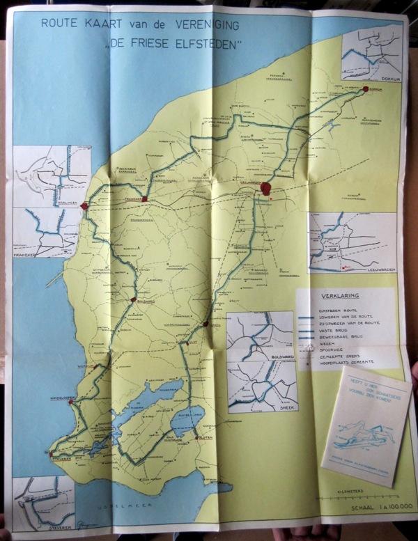 N/A. - Route Kaart van de Vereniging