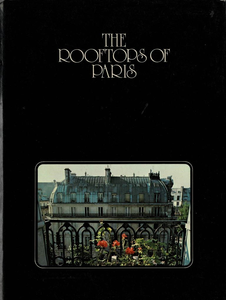 CANETTI, NICOLAI. - The rooftops of Paris.