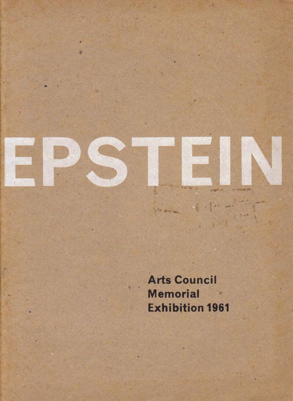 N/A. - Epstin. Memorial Exhibition 1961.