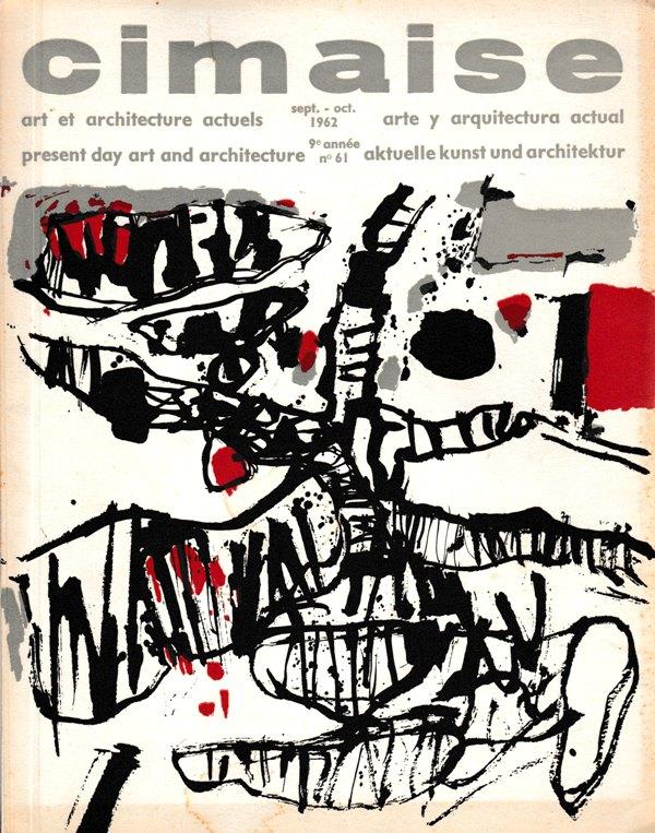 CIMAISE. NR. 61. - La XXXIe Biennale de Venise. Art et architecture actuels.