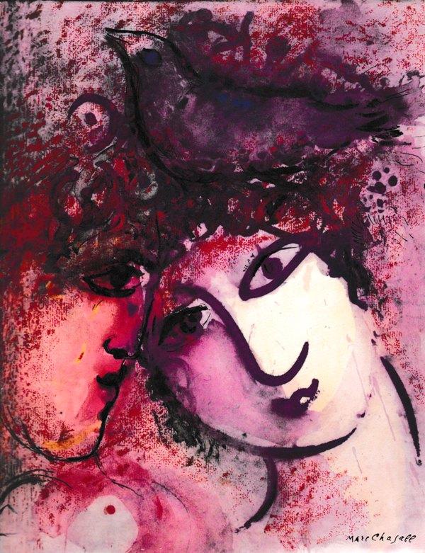 CHAGALL. MEYER, FRANZ. - Marc Chagall. Das grafische Werk.