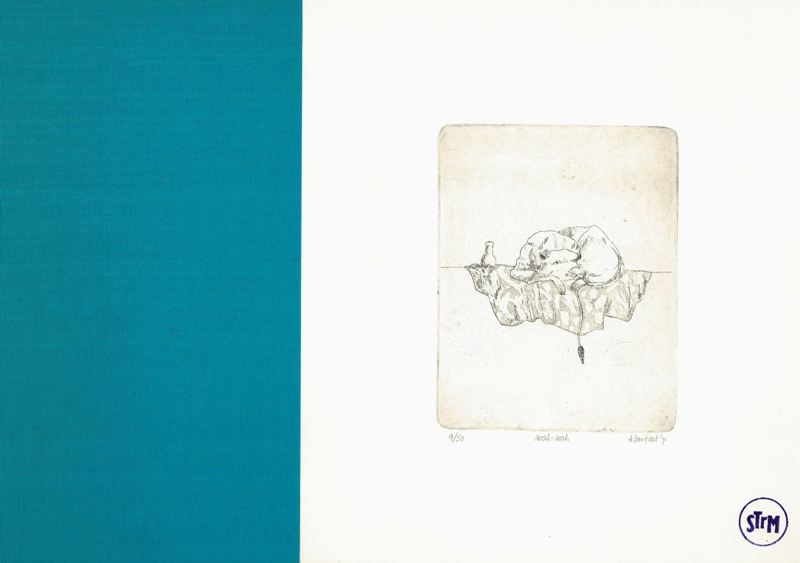 GEEST, ARIE VAN. - 11 tekeningen van Arie van Geest.