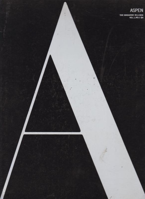 ASPEN: THE MAGAZINE IN A BOX, VOL. 1, NO. 2. - Vol.I, No.2. Johnson, Phyllis, editor.
